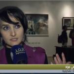 فيديو| معرض «رسائل الجدار والروح» للفنانة الفلسطينية مي مراد