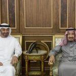 محمد بن زايد يبحث مع الملك سلمان عددا من القضايا الإقليمية والدولية