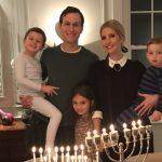 صورة| إيفانكا ترامب تحتفل بعيد «حانوكا» اليهودي