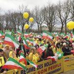 تظاهرات لمعارضين ايرانيين في باريس وبرلين
