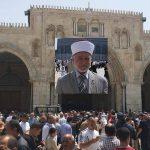 مفتي القدس: القرار الأمريكي لن يغير من واقع المدينة «المقدسة» شيئا