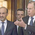 لافروف للجربا: محاربة الإرهاب في سوريا تتركز على دحر «جبهة النصرة»