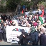 فيديو| مظاهرات حاشدة أمام مقر الأمم المتحدة في قطاع غزة لنصرة القدس