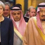 العاهل السعودي يجري اتصالا هاتفيا برئيسة وزراء بريطانيا
