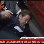 فيديو| مراسلة الغد: الاحتلال يعتدي على نساء فلسطينيات في القدس