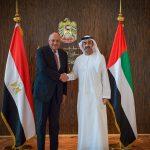 سامح شكري يبحث مع عبدالله بن زايد قضايا الأمن القومي العربي