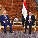 السيسي وعباس:  المصالحة الفلسطينية خيار استراتيجي لا غنى عنه