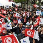 احتجاجات تحاصر احتفال تونس بالذكرى الـ 7 للثورة