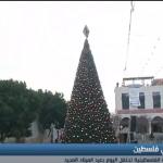 فيديو| شوارع بيت لحم تتزين بألوان عيد الميلاد رغم ممارسات الاحتلال