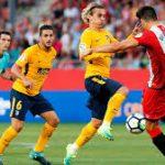 اتليتكو مدريد يتعادل مع جيرونا بالدوري الأسباني