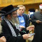 رئيس حركة ناطوري كارتا اليهودية يهنئ شيخ الأزهر بنجاح مؤتمر القدس