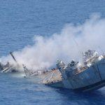 أكثر من 30 مفقودا بعد غرق سفينة إندونيسية قبالة جنوب كاليمانتان