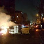 تظاهرة جديدة ليلا في وسط طهران
