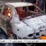 شاهد  لقطات ترصد الاحتجاجات الدامية في المدن الإيرانية