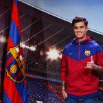 كوتينيو يوقع رسميا عقده مع برشلونة