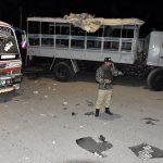 مقتل 7 وإصابة 23 في انفجار استهدف شاحنة للشرطة بباكستان