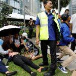 10 مصابين في انهيار بمقر بورصة إندونيسيا