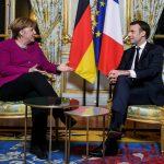 ميركل وماكرون يتفقان على تعميق التعاون وتقوية الاتحاد الأوروبي