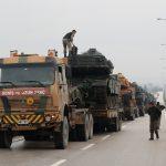الجيش التركي يقصف مواقع الأكراد في عفرين السورية