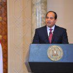 نص كلمة السيسي في المؤتمر الصحفي المشترك مع رئيس ورزاء إثيوبيا