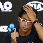 تشونج يأمل أن يؤدي تألقه في ملبورن لازدهار التنس في كوريا