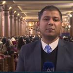 فيديو  السيسي يبعث رسالة سلام للعالم بمشاركته في احتفالات عيد الميلاد