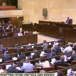 فيديو| تقرير: الكنيست الإسرائيلي يصوت على قانون يمنع التفاوض على القدس