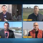 فيديو  قوات الاحتلال تحاول منع طاقم الغد من تغطية الأحداث بالخليل