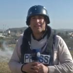 فيديو  اشتباكات بين فلسطينيين وقوات الاحتلال غرب رام الله