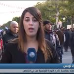 فيديو| مراسلة الغد: الجبهة الشعبية التونسية تستعد للتظاهر لإحياء ذكرى الثورة