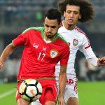 انتهاء الشوط الأول بالتعادل السلبي بين عُمان و الإمارات في كأس خليجي 23