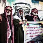 الفلسطينيون في غزة ونابلس يحتجون ويحذرون من وقف المساعدات الأمريكية عن «أونروا»