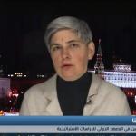 فيديو  باحثة روسية: الأمريكيون ليس لديهم رغبة في ترك سوريا ويسعون لتقسيمها