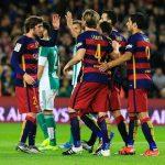 برشلونة المتصدر يواجة ريال بيتيس بالدوري الإسباني