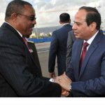 رئيس الوزراء الأثيوبي في القاهرة لبحث التعاون الثنائي و«سد النهضة» مع السيسي