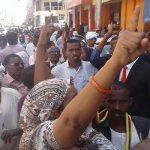 الشرطة السودانية تفرق مظاهرة بالغاز المسيل واعتقال زعيم الحزب الشيوعي