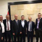 اجتماع فلسطيني إسرائيلي في رام الله