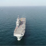 البحرية المصرية تؤمن حقل «ظُهر» والأهداف الحيوية فى عمق المياه الإقليمية