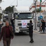 القطاع الخاص يوقف دخول البضائع لغزة.. ويوجه نداء عاجلاً للمجتمع الدولي