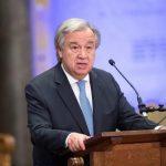 جوتيريش: حل الأزمة السورية يتطلب نجاح مفاوضات جنيف