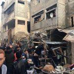 مصرع 7 فلسطينيين وإصابة 20 بانفجار منزل في غزة
