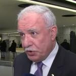 فيديو| وزير الخارجية الفلسطيني: المجتمع الدولي لا يتعامل بجدية مع القضية الفلسطينية