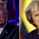 صن: ماي ستحث ترامب على تفادي احتجاجات لندن خلال زيارته لبريطانيا