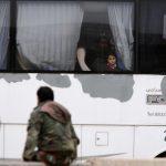 إجلاء مقاتلين ومدنيين سوريين من القلمون الشرقي إلى عفرين