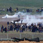 مراكز حقوقية تطالب محكمة الاحتلال بمنع استخدام الرصاص الحي ضد المتظاهرين