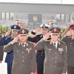 السيسي ينيب وزير الدفاع المصري لوضع إكليل الزهور على النصب التذكاري للشهداء