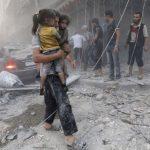 الجيش الروسي: المعارضة السورية قتلت 4 مدنيين في الغوطة الشرقية