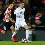 رونالدو ينقذ ريال مدريد من الهزيمة أمام أتلتيك بيلباو بالدوري الإسباني