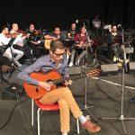 أغاني شادية على أنغام الجيتار في الرياض