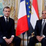 السيسي وماكرون يتفقان على دعم التسوية السياسية لأزمة سوريا